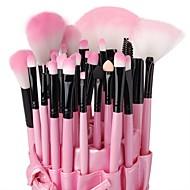 32pcs Makeup Brushes set Professional Pink Powder/Foundation/Concealer/Blush brush Shadow/Eyeliner/Lip Brush Makeup Kit with Holder Bag