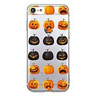 Voor 7plus telefoon hoesje transparant patroon achterkant hoesje tegel fruit halloween soft tpu voor iphone 7 6splus 6plus 6 6s 5 5s se