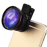 Lente del teléfono del kyotsu lente del pescado-ojo lente macra el kit de las lentes de la cámara del teléfono de la célula 12.5x de