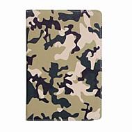 halpa iPad kuoret / kotelot-Etui Käyttötarkoitus Apple iPad Mini 4 iPad Mini 3/2/1 Korttikotelo Lomapkko Tuella Kuvio Suojakuori Armeijatyyli Kova PU-nahka varten