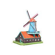 cheap Toys & Hobbies-3D Puzzles Toys Windmill Famous buildings EPS+EPU Not Specified Pieces