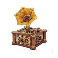 Zestaw DIY Zabawki 3D Puzzle Zabawki Gramofon 3D Retro Nie określony Sztuk