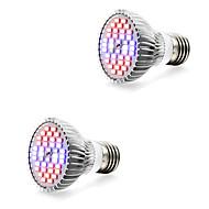 halpa Kasvivalaisimet-2pcs 7W 800-1200lm E14 GU10 E27 Kasvava hehkulamppu 40 LED-helmet SMD 5730 Lämmin valkoinen Valkoinen Sininen Punainen 85-265V