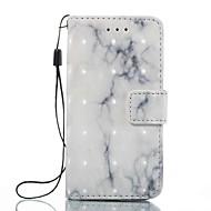 preiswerte iPod-Hüllen / Cover-Hülle Für iTouch 5/6 Geldbeutel Kreditkartenfächer mit Halterung Flipbare Hülle Muster Ganzkörper-Gehäuse PU-Leder Hart