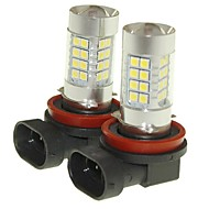 abordables -SENCART 2pcs D2S / C / PGJ19-2 Automatique Ampoules électriques 36W SMD 3030 1500-1800lm Ampoules LED Feu Antibrouillard
