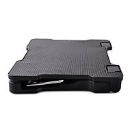 Steady Laptop Stand Klappbar Verstellbarer Ständer Notebook Alles in einem Stehen Sie mit Kühlventilator Metall Andere Laptop MacBook