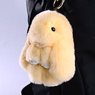 가방 / 전화 / 키 체인의 매력 만화 장난감 렉스 토끼 모피 휴대 전화 매력