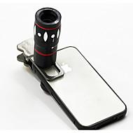 10x multifunktionale 4 in1 externe Kamera Objektiv Weitwinkel-Makro fisheye Tele für Handy