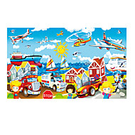 cheap Toys & Hobbies-Jigsaw Puzzle Wooden Puzzles Pegged Puzzles Educational Toy Toys Car Helicopter Wood Unisex Pieces