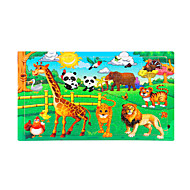 cheap Toys & Hobbies-Jigsaw Puzzle Wooden Puzzles Educational Toy Toys Sun Animals Wood Unisex Pieces