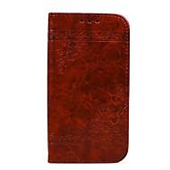 Недорогие Чехлы и кейсы для Galaxy A3(2016)-Кейс для Назначение SSamsung Galaxy A5(2016) A3(2016) Бумажник для карт Кошелек со стендом Флип Рельефный Чехол С сердцем Твердый Кожа PU