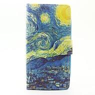 お買い得  携帯電話ケース-ケース 用途 Wiko カードホルダー ウォレット スタンド付き フリップ フルボディーケース 風景 ハード PUレザー のために Wiko Sunset 2 Wiko Lenny 3 Wiko Lenny 2