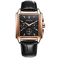 preiswerte Tolle Angebote auf Uhren-Herrn Uhr Holz Einzigartige kreative Uhr Armbanduhr Modeuhr Sportuhr Armbanduhren für den Alltag Quartz Kalender Echtes Leder Band Luxus