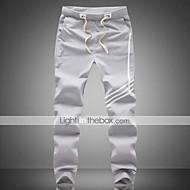 Per uomo Essenziale Sportivo Casual Pantaloni della tuta Pantaloni - Strisce Sportivo Nero Grigio XXXL XXXXL XXXXXL / Autunno