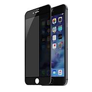 Недорогие Защитные плёнки для экранов iPhone 8-Защитная плёнка для экрана Apple для iPhone 8 Закаленное стекло 1 ед. Защитная пленка на всё устройство 3D закругленные углы Anti-Spy