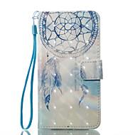 Назначение iPhone X iPhone 8 Чехлы панели Кошелек Бумажник для карт со стендом Флип С узором Магнитный Чехол Кейс для Ловец снов Твердый