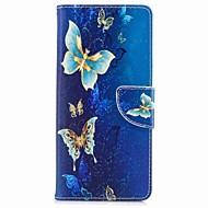 Kılıf Na Samsung Galaxy Note 8 Portfel Etui na karty Z podpórką Flip Wzór Magnetyczne Futerał Motyl Twarde Sztuczna skóra na Note 8