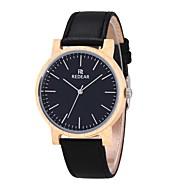 お買い得  -男性用 女性用 ファッションウォッチ 腕時計 ウッド 日本産 クォーツ 木製 本革 バンド チャーム カジュアル ブラック