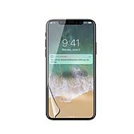 Недорогие Защитные плёнки для экрана iPhone-Защитная плёнка для экрана Apple для iPhone X PET 1 ед. Защитная пленка для экрана HD