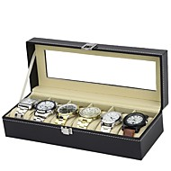 voordelige Horlogeaccessoires-Horlogedoosjes Leder Horlogeaccessoires 0.75 Uitrusting