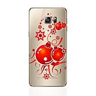 Χαμηλού Κόστους Galaxy S6 Edge Plus Θήκες / Καλύμματα-tok Για Samsung Galaxy S8 Plus S8 Διαφανής Με σχέδια Πίσω Κάλυμμα Μπαλόνια Μαλακή TPU για S8 Plus S8 S7 edge S7 S6 edge plus S6 edge S6