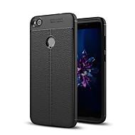olcso Mobiltelefon tokok-Case Kompatibilitás Huawei P10 Plus P10 Ütésálló Hátlap Tömör szín Puha Szilikon mert Huawei P10 Plus Huawei P10 Lite Huawei P10 Huawei