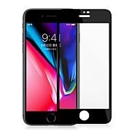 Недорогие Защитные плёнки для экранов iPhone 8-Защитная плёнка для экрана Apple для iPhone 8 Закаленное стекло 1 ед. Защитная пленка на всё устройство Против отпечатков пальцев Защита