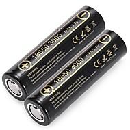 voordelige Batterijen & Opladers-liitokala lii - 30a 18650 20a ontlading oplaadbare batterij 2 stuks