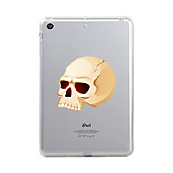 Til iPad (2017) Etuier Transparent Mønster Bagcover Etui Transparent Halloween Dødningehoveder Blødt TPU for Apple iPad (2017) iPad Pro