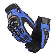 abordables Guantes para Moto-pro-biker full finger motocicleta airsoftsports montando carreras guantes tácticos auto motor protección ciclismo deporte guantes mcs-01c