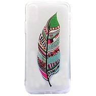 Назначение iPhone X iPhone 8 Чехлы панели IMD С узором Задняя крышка Кейс для  Перья Мягкий Термопластик для Apple iPhone X iPhone 8 Plus