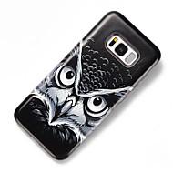 Кейс для Назначение SSamsung Galaxy S8 Plus S8 Защита от удара С узором Задняя крышка Сова Твердый PC для S8 S8 Plus S7 edge S7 S6 edge S6