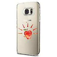 na obudowę obudowy przezroczysty wzór obudowa tylna obudowa miękka miękka tpu dla Samsunga galaxy s8 plus s8 s7 krawędź s7 s6 krawędź plus