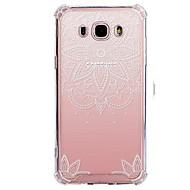 tok Για Samsung Galaxy J7 (2017) J3 (2017) Διαφανής Με σχέδια Πίσω Κάλυμμα Lace Εκτύπωση Μαλακή TPU για J7 (2016) J7 (2017) J7 V J7 Perx