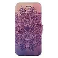 Назначение iPhone X iPhone 8 Чехлы панели Бумажник для карт со стендом Флип С узором Чехол Кейс для Мандала Твердый Искусственная кожа для