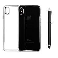 abordables Súperoferta de Precios Locos-Funda Para Apple iPhone X / iPhone 8 Antigolpes / Transparente Funda Trasera Un Color Suave TPU para iPhone X / iPhone 8 Plus / iPhone 8