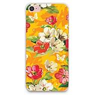 чехол для iphone 7 6 цветок tpu мягкая ультратонкая задняя крышка чехол чехол iphone 7 плюс 6 6s плюс se 5s 5 5c 4s 4