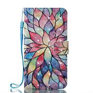 Назначение iPhone X iPhone 8 Чехлы панели Кошелек Бумажник для карт со стендом Флип С узором Магнитный Чехол Кейс для Цветы Твердый