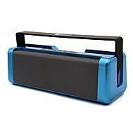 お買い得  スピーカー-NR3012 屋内 Bluetooth ブルートゥース 3.0 3.5mm AUX ブックシェルフスピーカー ゴールド ブラック シルバー ダークブルー クリムゾン