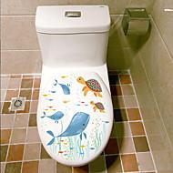 preiswerte -Tiere Mode Landschaft Wand-Sticker Flugzeug-Wand Sticker Dekorative Wand Sticker Bad Sticker Stoff Haus Dekoration Wandtattoo