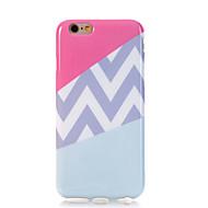 Назначение iPhone 7 iPhone 7 Plus Чехлы панели Ультратонкий С узором Задняя крышка Кейс для Полосы / волосы Мягкий Термопластик для Apple
