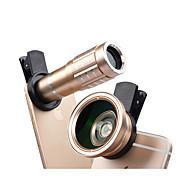spiderholster apexel-12x-0.45 Handylinse 12.5x Makroobjektiv 12x fokales Objektiv 0.45x Weitwinkelobjektiv Aluminiumlegierungsglas für