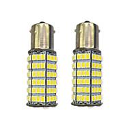 Недорогие Сигнальные огни для авто-4w 1156 bay15s py21w 120smd2835 указатель поворота для автомобиля белый dc12v 2шт