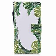 Недорогие Чехлы и кейсы для Galaxy A3(2017)-Кейс для Назначение SSamsung Galaxy A5(2017) A3(2017) Бумажник для карт Кошелек Флип Магнитный С узором Чехол дерево Твердый Кожа PU для