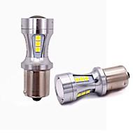 Недорогие Задние фонари-2pcs T20 / 1157 / 1156 Автомобиль Лампы 18W SMD 5050 1800lm 18 Задний свет For Универсальный Все года