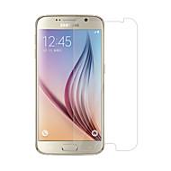 Недорогие Чехлы и кейсы для Galaxy S-Защитная плёнка для экрана для Samsung Galaxy S6 Закаленное стекло 1 ед. Защитная пленка для экрана HD / Уровень защиты 9H / 2.5D закругленные углы