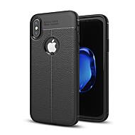 Carcasă Pro Apple iPhone X / iPhone 8 / iPhone XS Nárazuvzdorné Zadní kryt Jednobarevné Měkké Silikon pro iPhone XS / iPhone XR / iPhone XS Max