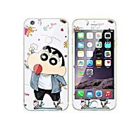 Hærdet Glas Skærmbeskytter for Apple iPhone 7 Front- og rygbeskyttelse Helkrops- og skærmbeskyttelse 9H hårdhed Glitterskin