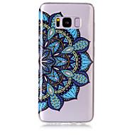 halpa Galaxy S7 kotelot / kuoret-Etui Käyttötarkoitus Samsung Galaxy S8 Plus S8 IMD Läpinäkyvä Kuvio Takakuori Mandala Pehmeä TPU varten S8 Plus S8 S7 edge S7 S6 edge S6