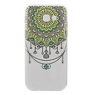 Недорогие Чехлы и кейсы для Galaxy А-Кейс для Назначение SSamsung Galaxy A5(2017) A3(2017) Прозрачный С узором Кейс на заднюю панель Мандала Мягкий ТПУ для A3 (2017) A5